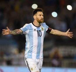 Messi y la música