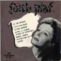 Canción 'L'Hymne à l'amour' del disco 'La vie en rose' interpretada por Edith Piaf