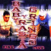 Canción 'Cierra los ojos bien' del disco 'Fire Live' interpretada por Baby Rasta & Gringo