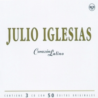 Canción 'Río revelde' del disco 'Corazón latino' interpretada por Julio Iglesias