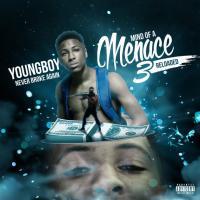 Canción 'Blowin' Up' del disco 'Mind Of A Menace 3 Reloaded' interpretada por YoungBoy Never Broke Again