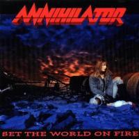 Canción 'Brain Dance' del disco 'Set the World on Fire' interpretada por Annihilator