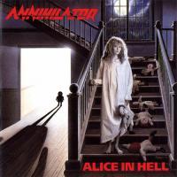 Canción 'Alison Hell' del disco 'Alice in Hell' interpretada por Annihilator