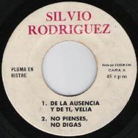 De la ausencia y de ti - Silvio Rodríguez