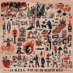 Disco '7:47 (Ni Un Minuto Más)' (2018) al que pertenece la canción 'Colgados del Sol'