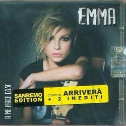 Disco ' A me piace così (Sanremo Edition)' (2011) al que pertenece la canción 'Arriverà'