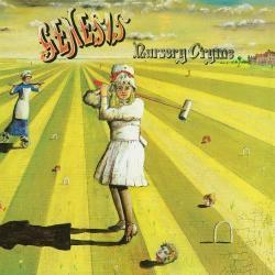 Disco 'Nursery Cryme ' (1971) al que pertenece la canción 'The Musical Box'