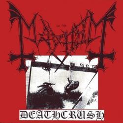 Disco 'Deathcrush' (1987) al que pertenece la canción 'Chainsaw Gutsfuck'