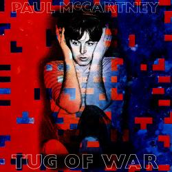 Disco 'Tug of War' (1982) al que pertenece la canción 'Ebony And Ivory'