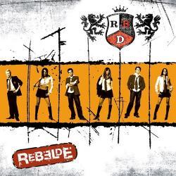 Disco 'Rebelde' (2004) al que pertenece la canción 'Sálvame'