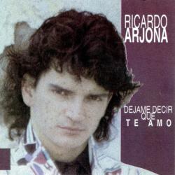 Disco 'Déjame decir que te amo' (1985) al que pertenece la canción 'Y ahora tu te me vas'