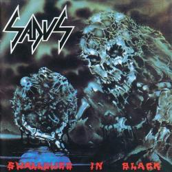 Disco 'Swallowed in Black' (1990) al que pertenece la canción 'Man Infestation'