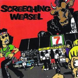 Disco 'Screeching Weasel' (1987) al que pertenece la canción 'Raining Needles'