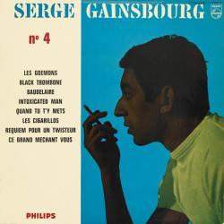 Disco 'N°4' (1962) al que pertenece la canción 'Ce Grand Méchant Vous'