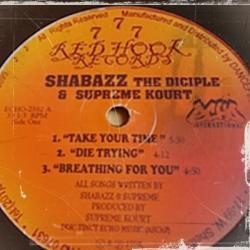 Disco 'Take Your Time EP' (1998) al que pertenece la canción 'Die Trying'