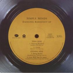 Disco 'Dancing Barefoot EP' (2001) al que pertenece la canción 'Love Will Tear Us Apart'
