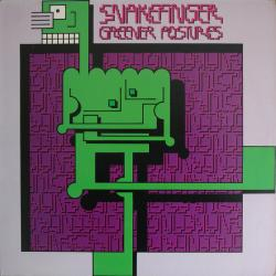 Disco 'Greener Postures' (1980) al que pertenece la canción 'The Picture Makers Vs. Children Of The Sea'
