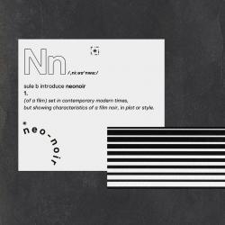 Disco 'Neo Noir' (2016) al que pertenece la canción 'La Bolsa'
