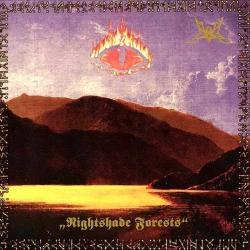 Disco 'Nightshade Forests (EP)' (1997) al que pertenece la canción 'Mirkwood'