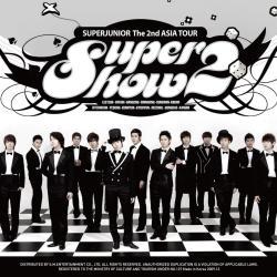 Disco 'Super Show 2 - Super Junior The 2nd Asia Tour Concert Album cover' (2009) al que pertenece la canción 'Shining Star'