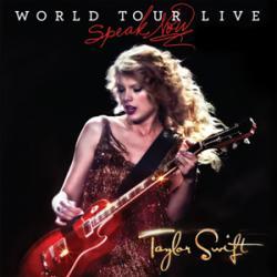 Disco 'Speak Now: World Tour Live' (2011) al que pertenece la canción 'Drops of Jupiter'