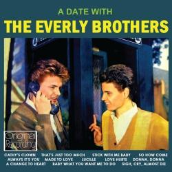 Disco 'A Date with The Everly Brothers' (1960) al que pertenece la canción 'Baby What You Want Me To Do'