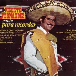 Así - Vicente Fernández | Canta Para Recordar