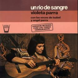 Disco 'Canciones reencontradas en París' (1971) al que pertenece la canción 'Arauco tiene una pena'