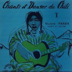 Disco 'Cantos de Chile' (1956) al que pertenece la canción 'Casamiento de negros'