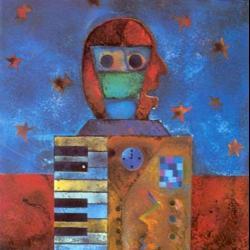 Disco 'Hombre sintetizador' (1999) al que pertenece la canción 'Cuantos Pasos'