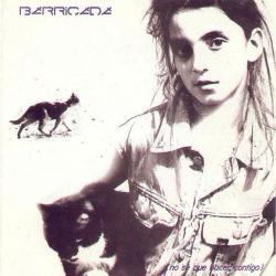 Disco 'No sé qué hacer contigo' (1987) al que pertenece la canción 'Tentando a la suerte'