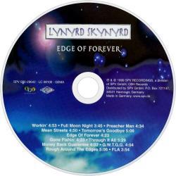 Disco 'Edge Of Forever' (1999) al que pertenece la canción 'Tomorrow's goodbye'