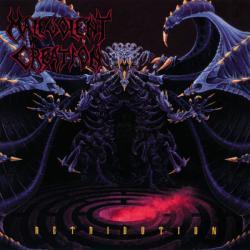 Disco 'Retribution' (1992) al que pertenece la canción 'No Flesh Shall Be Spared'