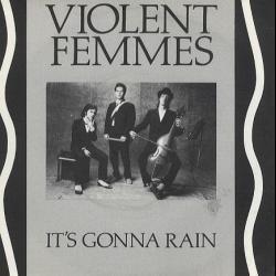 Disco ' It's Gonna Rain ' (1984) al que pertenece la canción 'Jesus Walking On The Water'