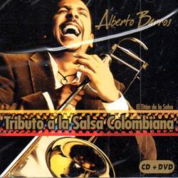 Disco 'Tributo a la salsa colombiana' (2007) al que pertenece la canción 'Sobredosis'