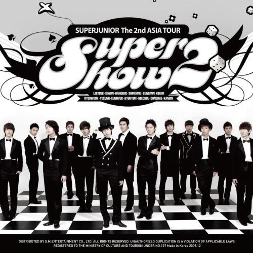 Super Show 2 - Super Junior The 2nd Asia Tour Concert Album cover - Sorry sorry