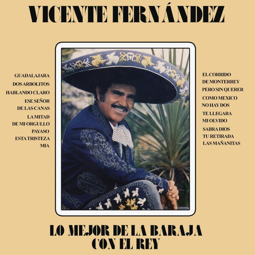 Esta Tristeza Mia Letra Vicente Fernández Musica Com