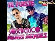 Jose de Rico y Henry Mendez