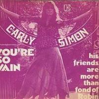 Canción 'Youre So Vain' interpretada por Carly Simon
