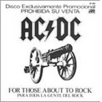 For Those About To Rock de AC/DC