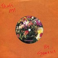 Canción 'That's All' interpretada por Genesis