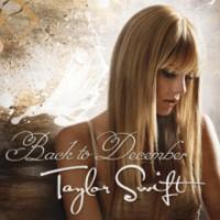 Canción 'Back to December' interpretada por Taylor Swift