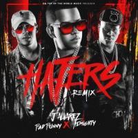 Canción 'Haters (Remix)' interpretada por Bad Bunny