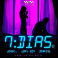 Canción '7 Días Remix' interpretada por Darkiel