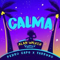 Canción 'Calma Alan Walker Remix' interpretada por Pedro Capó
