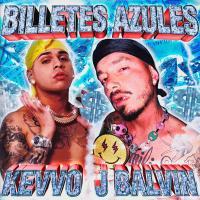 BILLETES AZULES letra KEVVO