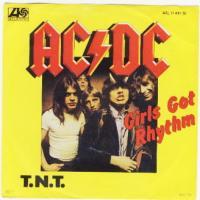 Canción 'Girls Got Rhythm' interpretada por AC/DC