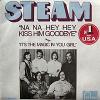 Canción 'Na Na Hey Hey Kiss Him Goodbye' interpretada por Steam