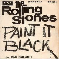 Canción 'Paint It Black' interpretada por The Rolling Stones