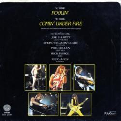 Comin' Under Fire - Def Leppard